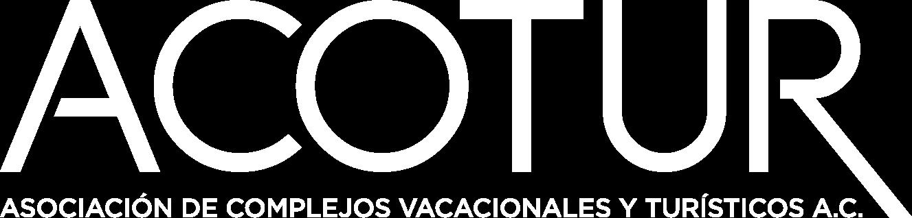 Logo ACOTUR en Blanco